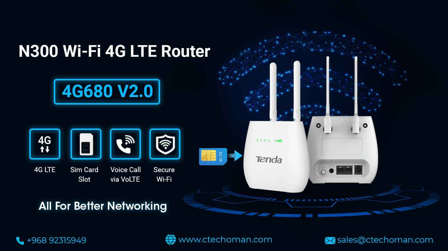 N300 Wi-Fi 4G LTE Router